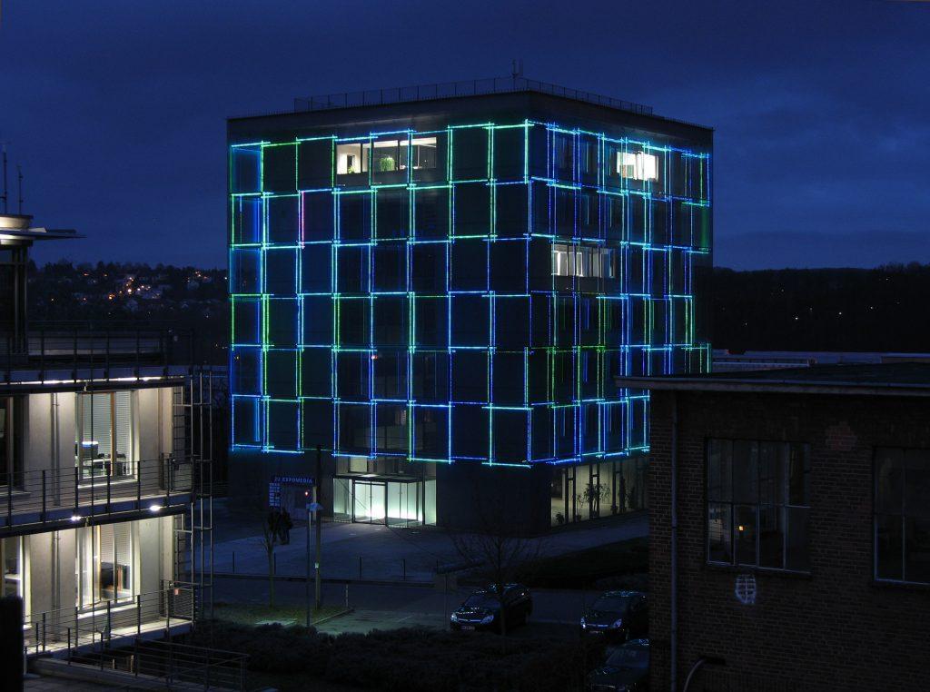 Gebäude dinext. Group